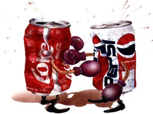 pepsi vs cocacola